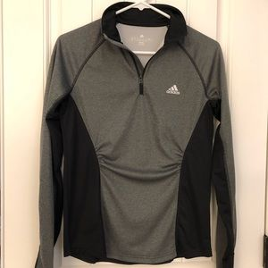 Women's Adidas Climalite 1/4 Zip Pullover Size S